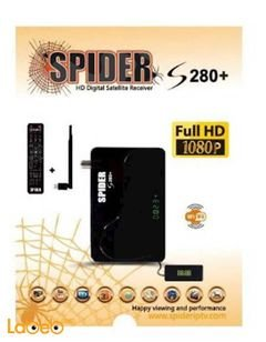 Spider S280 Plus HD Receiver - IPTV - WIFI - 1700 Channels - Full HD