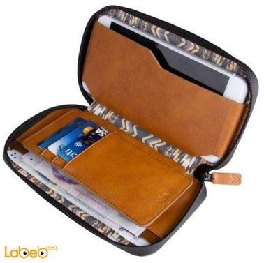 محفظة للموبايل والبطاقات روبوستو من فيفا مدريد بني VIVA-RBTOWP-BWN