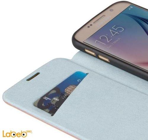 Viva madrid brand Galaxy S6 cover Blue color VIVA-SGS6SBS-LUCBU