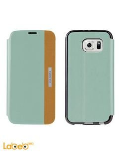 Viva madrid Galaxy S6 cover - Blue color - VIVA-SGS6SBS-LUCBU