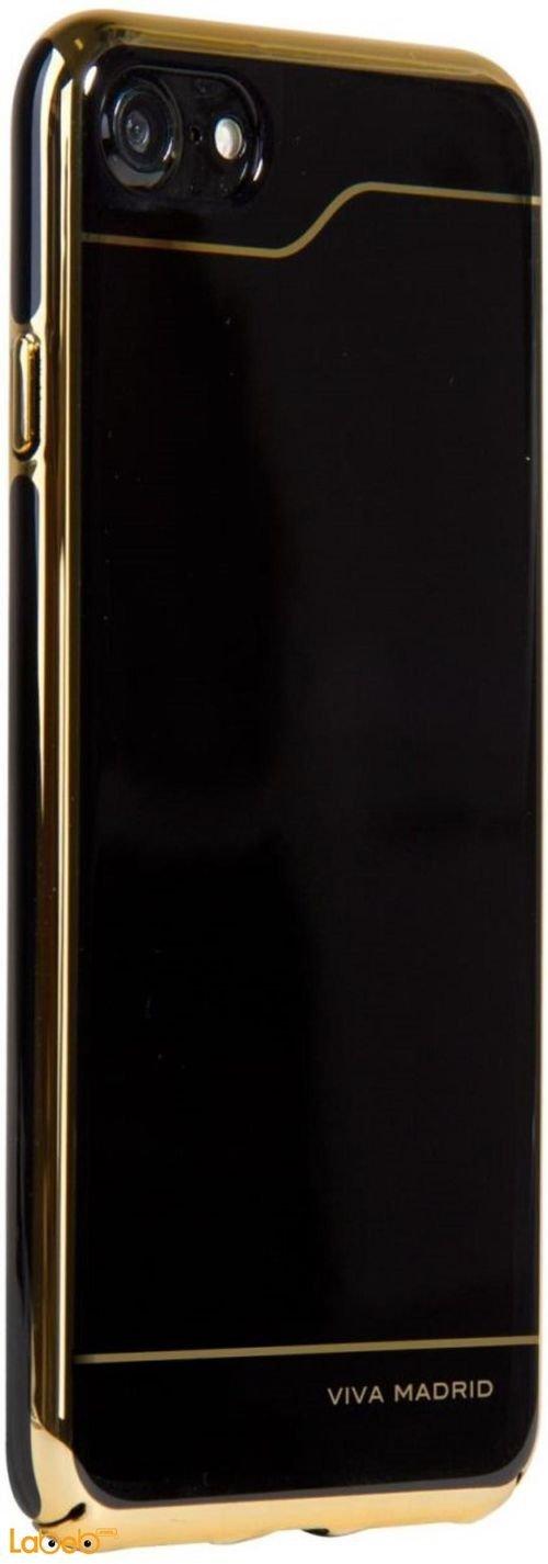 غطاء خلفي فيفا مدريد ايفون 7 أسود وذهبي موديل VIVA-IP7BC-ESBHRL