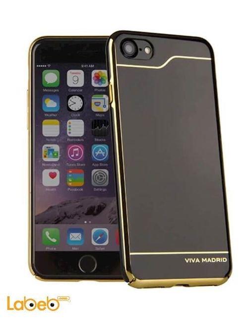 غطاء خلفي فيفا مدريد ايفون 7 أسود وذهبي VIVA-IP7BC-ESBHRL
