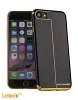 غطاء خلفي من فيفا مدريد ايفون 7 أسود وذهبي VIVA-IP7BC-ESBHRL