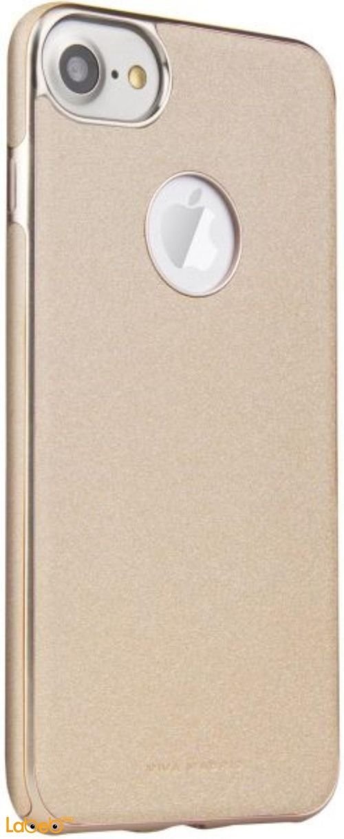 Viva madrid mobile back cover suitable for iPhone 7 Gold color