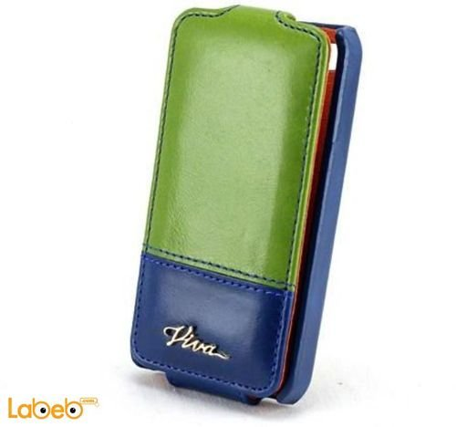 Viva madrid case for iPhone 4/4S smartphone Blue & Green color