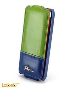 Viva madrid cover - for iPhone 4/4S smartphone - Blue & Green