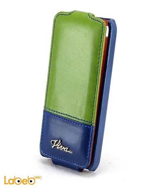 Viva madrid case for iPhone 4/4S smartphone Blue & Green