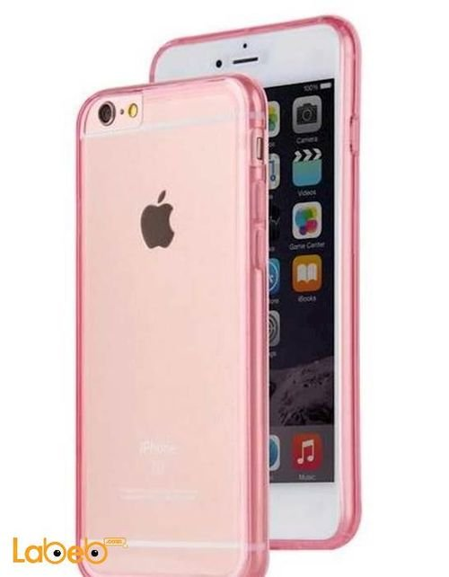 Viva madrid case for iPhone 6/6S transparent with pink frame