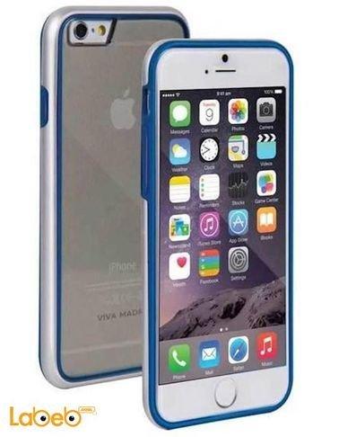 Viva madrid case for iPhone 6 Transparent with blue frame