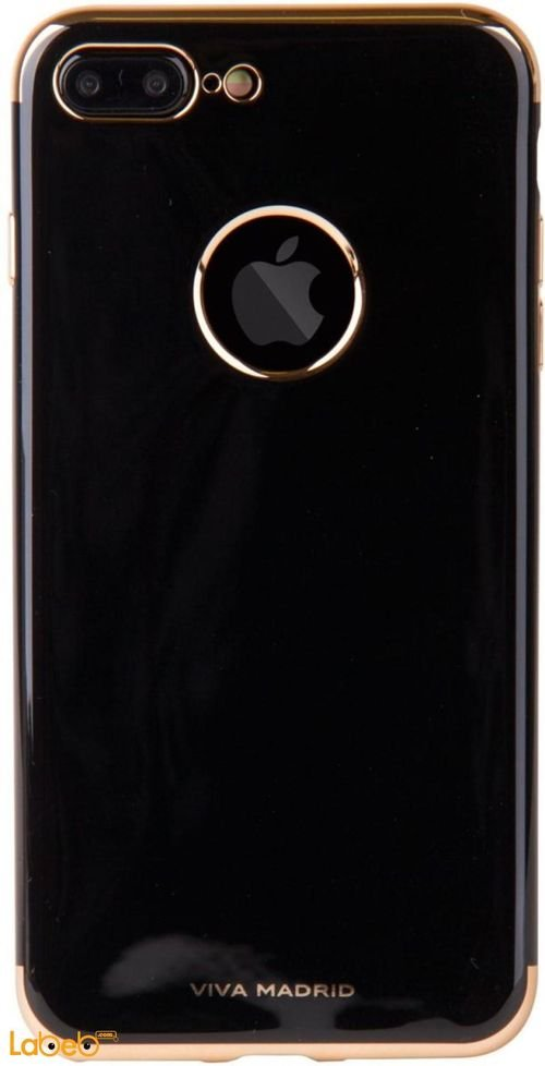 Viva madrid TPU series case back iPhone 7+ Black with golden sides