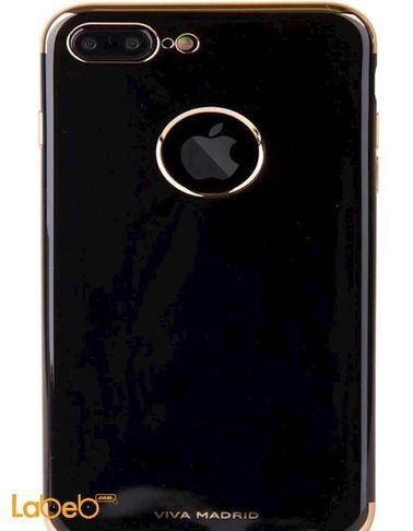 Viva madrid TPU series case iPhone 7+ Black with golden sides