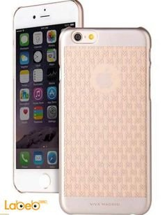 Viva madrid case - for iPhone 6 smartphone - Gold color
