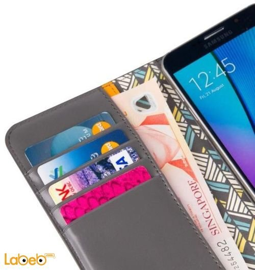 Viva madris cover for 5.5inch screen cards and Sim input Grey
