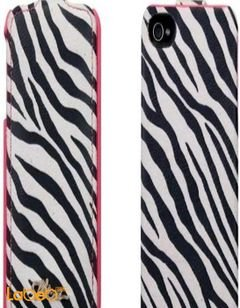 Viva madrid cover - for iPhone 4/4S smartphone - White & Black