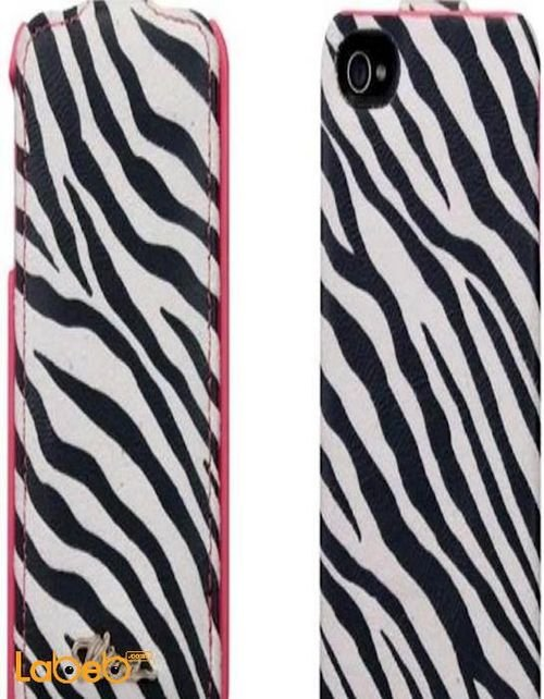 Viva madrid cover for iPhone 4/4S smartphone White & Black