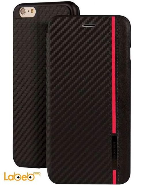 Viva madrid Grafito Hardi Case for iPhone 6 Black & Red