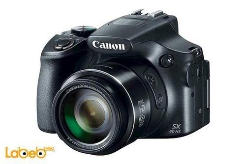 آلة تصوير كانون رقمية x65 زوم 16.1 ميجابكسل PowerShot SX60 HS