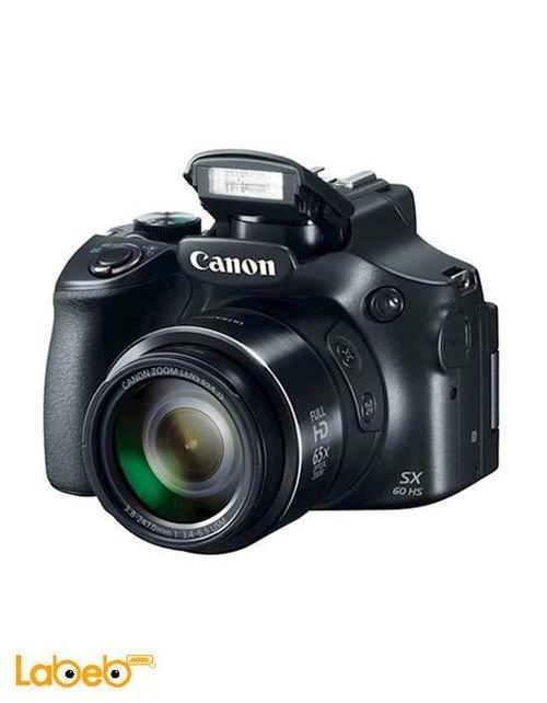 كاميرا كانون رقمية x65 زوم 16.1 ميجابكسل PowerShot SX60 HS