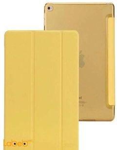 غطاء ذكي فيفا مدريد - مناسب لايباد اير - مع ستاند - لون أصفر