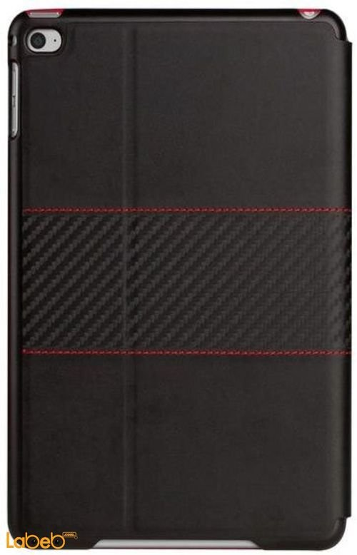 Viva madrid grafito faja case back iPad AIR 2 Black with red lines