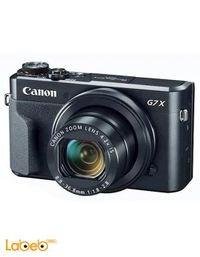 كاميرا كانون الرقمية حجم 3 بوصة لون أسود PowerShot G7X Mark II