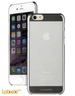 Viva madrid case - for iPhone 6 - Transparent with silver edges