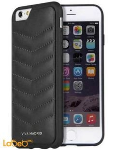 Viva madrid case - for iPhone 6/6Plus smartphone - Black color