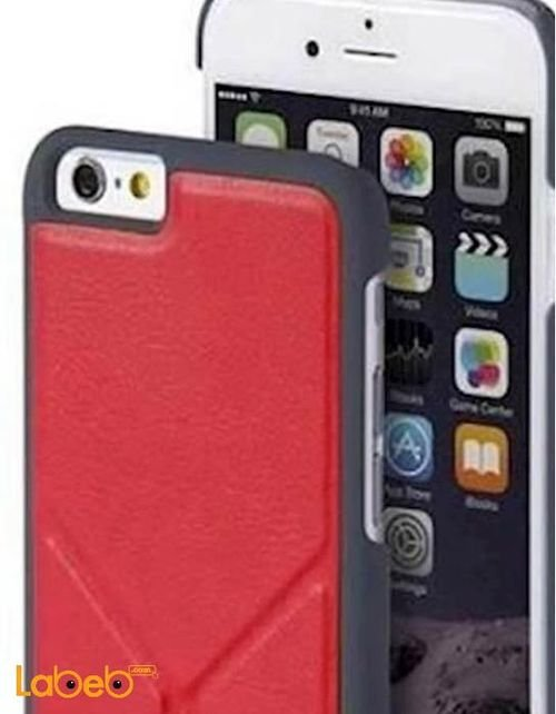 case For iPhone 6/6S smartphone with holder Red