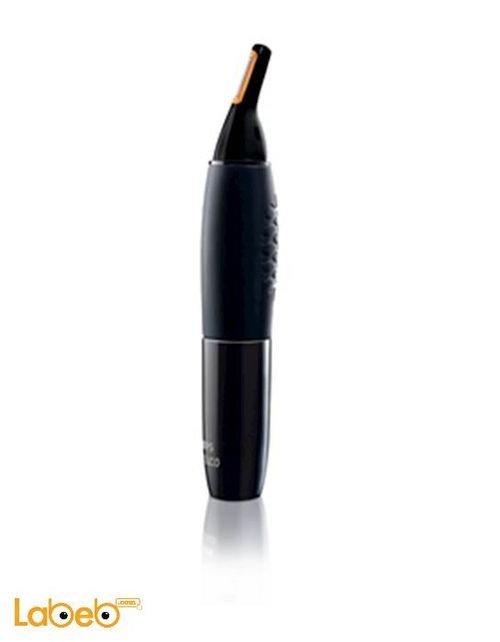 ماكينة فليبس لتشذيب شعر الأنف والأذن لون أسود موديل NT9105