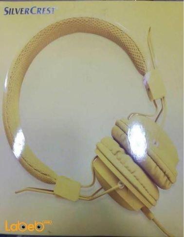 سماعة راس سلكية الطول 150 سم لون أصفر SilverCrest