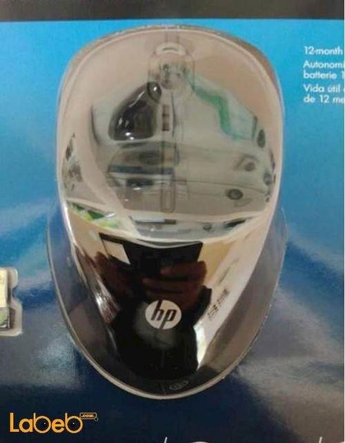 فأرة لاسلكية إتش بي أسود موديل X3500