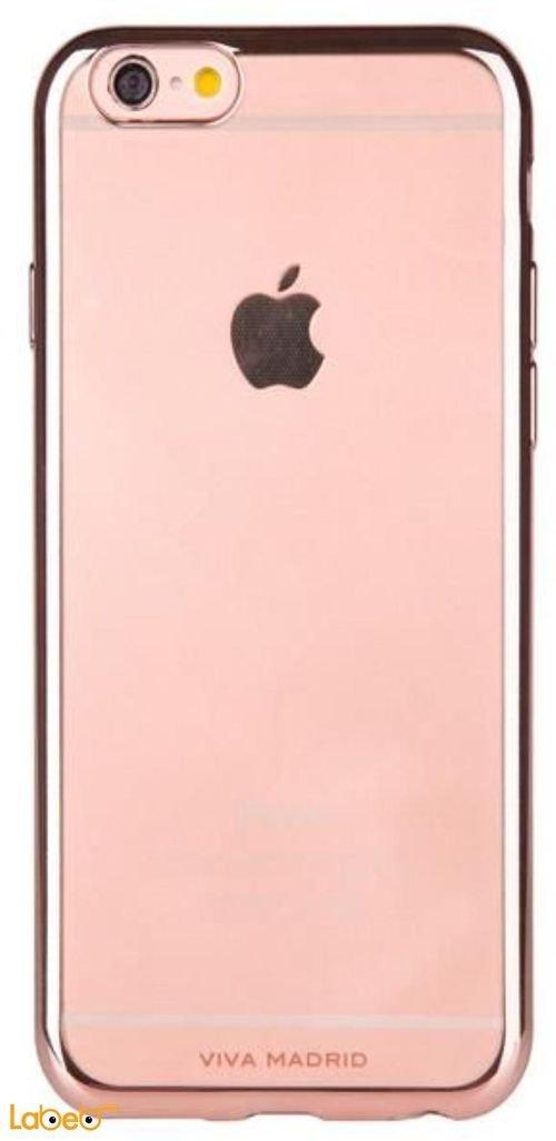 Viva madrid Metalico flex case back for iPhone 6/6S Rose gold