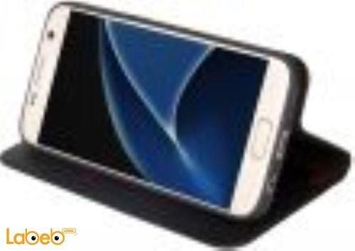 غطاء Viva madrid لسامسونج جلاكسي S7 لون أسود