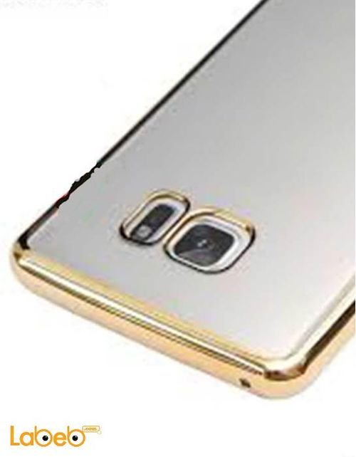 Viva madrid case back for Galaxy Note 7 Transparent with golden sides