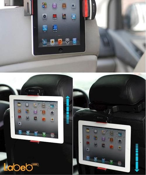 Exogear ExoMount Headrest Tablet Mount Features Up to 10inch screen