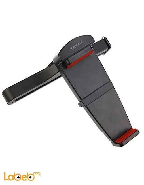 قاعدة تثبيت الجهاز اللوحي لمقعد السيارة Exogear شاشة حتى 10 انش