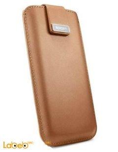 غطاء SPIGEN - مناسب لموبايل ايفون 5 - لون بني - مغناطيسي