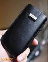 غطاء SPIGEN مناسب لموبايل ايفون 5 لون أسود