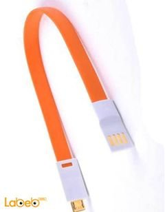 Vojo Cable charger - Magnetic - For Apple devices - Orange color