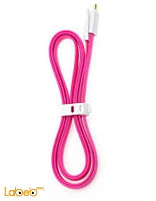 Vojo Cable charger Magnetic 1.2m length Pink