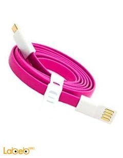 Vojo Cable charger - Magnetic - 1.2m length - Pink color