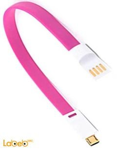 Vojo Cable Charger - For Apple devices - Magnetic - Pink color