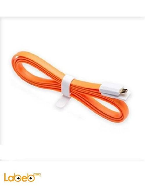 VOJO Cable charger for iphone devices 1.2m Orange color