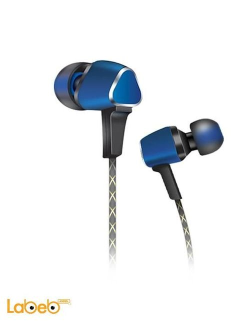 Audionic Earphone Panache 1.2m length Blue LT-108 model