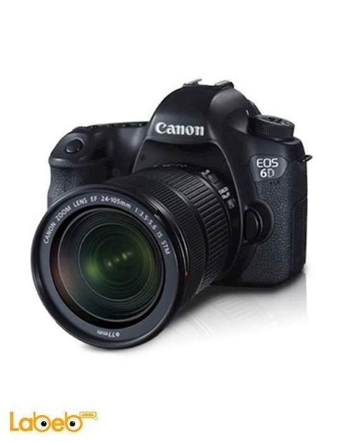 Canon EOS 6D Kit Camera 24-105 STM 20.2MP 3.2Inch Black Color