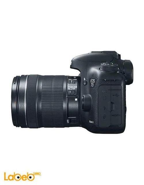 كاميرا كانون الرقمية 18-135 ملم 20.2 ميجابكسل EOS 7D Mark II kit