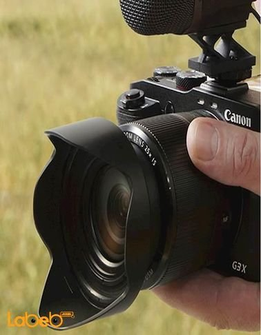 Canon PowerShot G3X - 20.2MP Digital Camera - Zoom 25x - Black Color