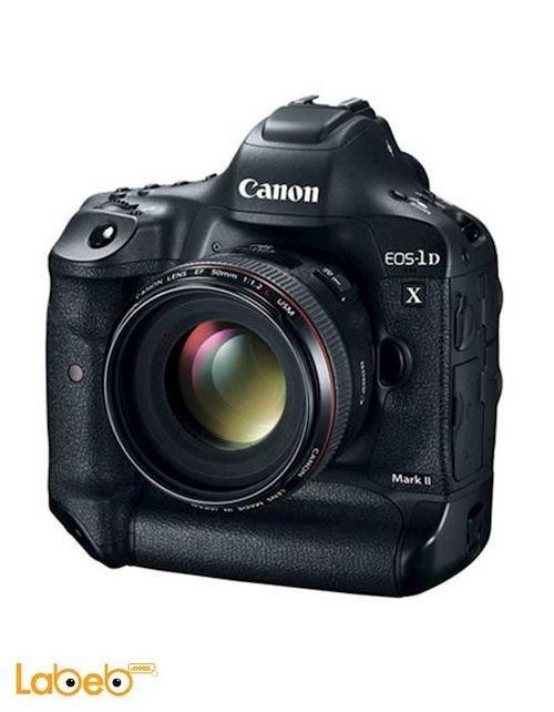 كاميرا كانون الرقمية حجم 3.2 بوصة أسود موديل EOS 1D X Mark II