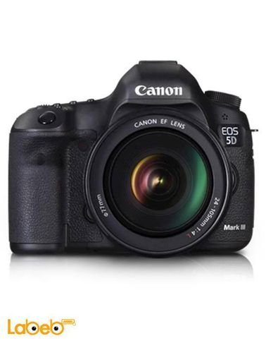 Canon EOS 5D Mark III KIT - 22.3MP Digital Camera - 3.2inch - Black