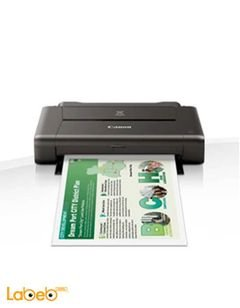 Canon Wirelees Printer - Black Color - PIXMA IP-110 with battery